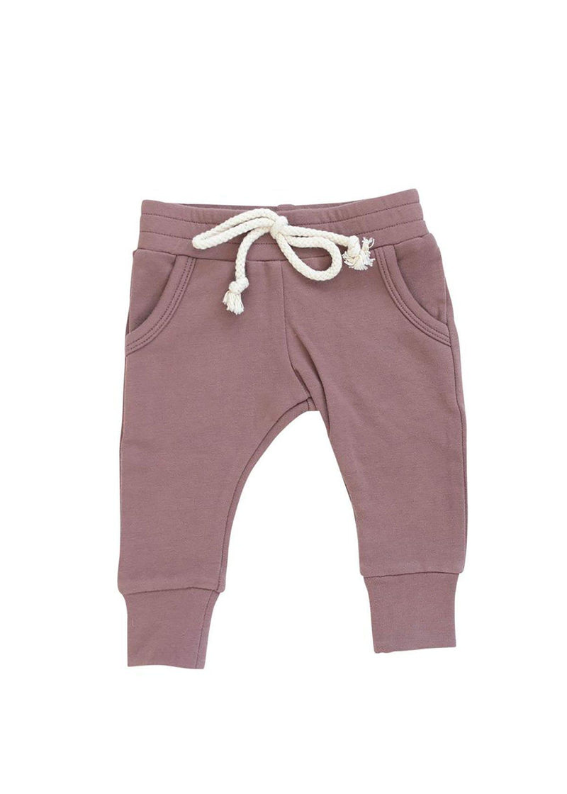 Rose French Terry Jogger Pants