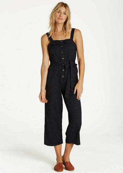 Sandy Toes Jumpsuit - Black