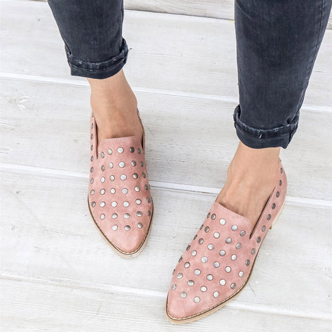 Scottie Button Studded Loafer