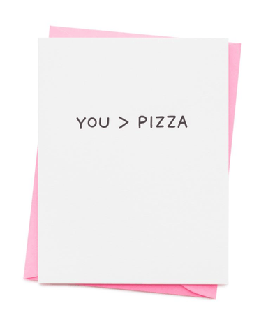 You > Pizza Card
