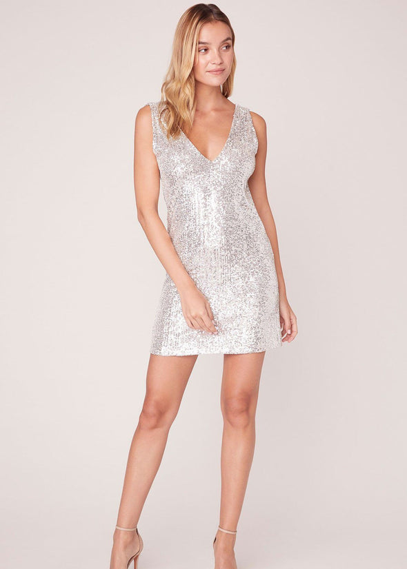 Sequin Finale Sleeveless Dress