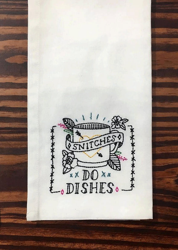 Snitches Tea Towel
