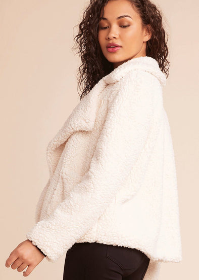 Speak Now Sherpa Jacket - Ivory