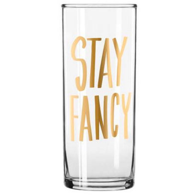 Stay Fancy Cocktail Glass