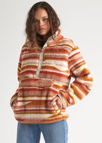 Switchback Fleece Pullover - Multi