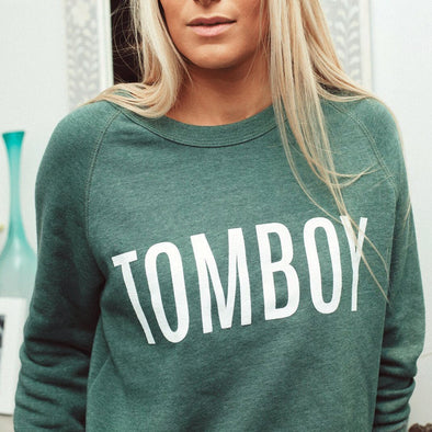 Tomboy Sweater - Green