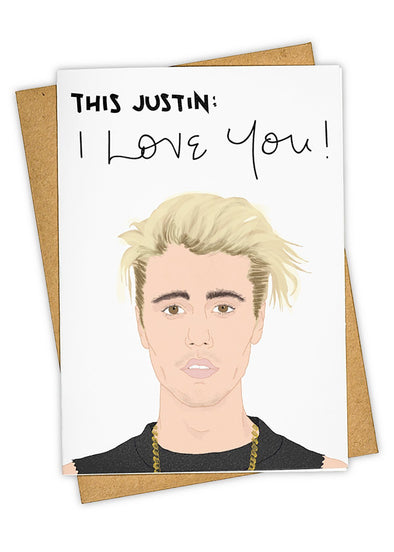 This Justin Card