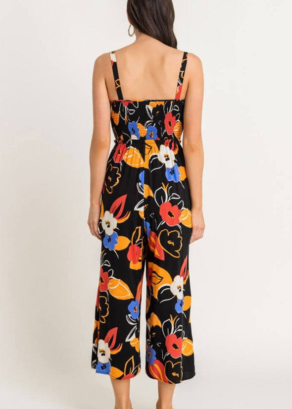 Floral Sweetheart Jumpsuit
