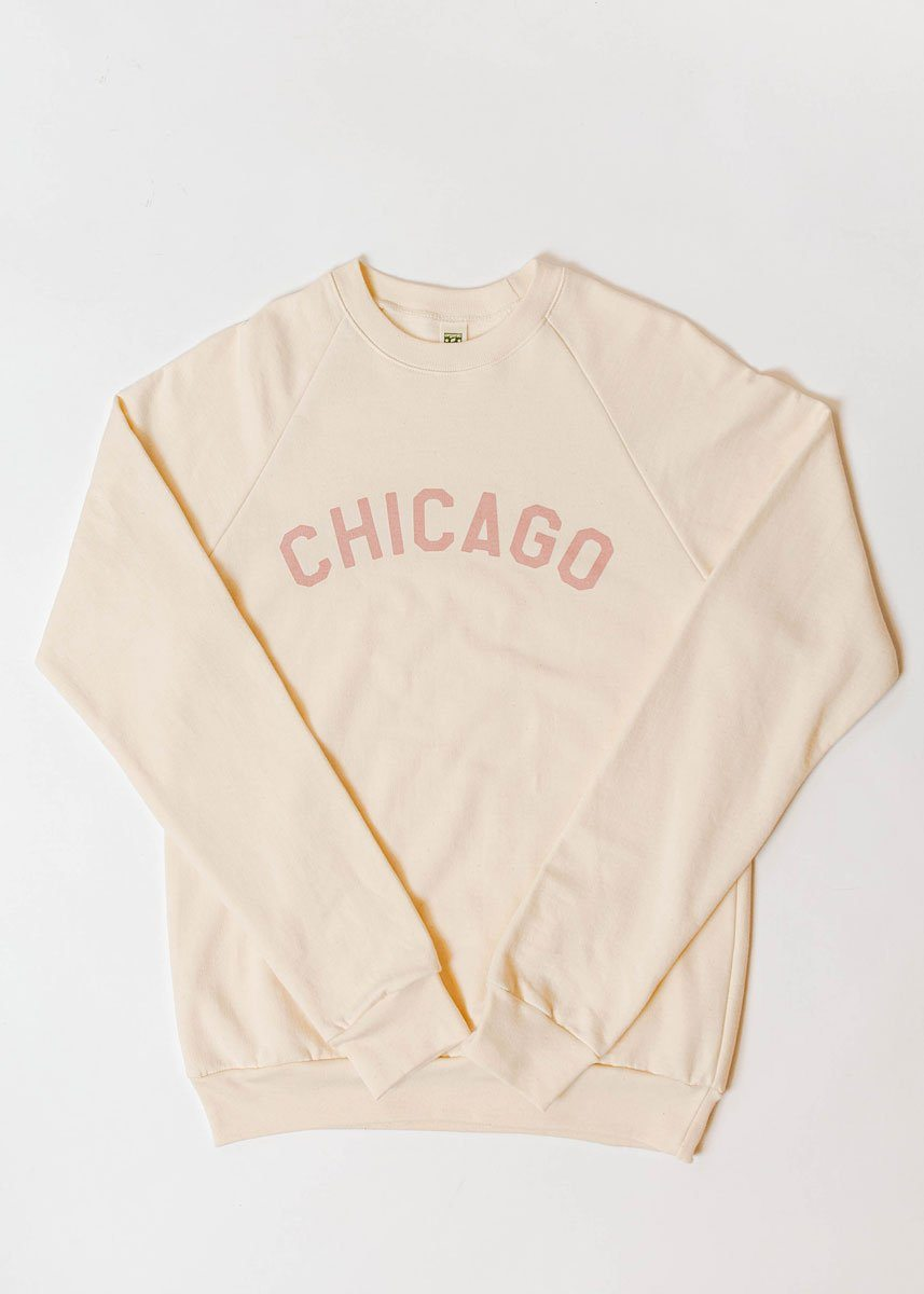 Sweet Home Chicago Sweatshirt - Mauve Exclusive