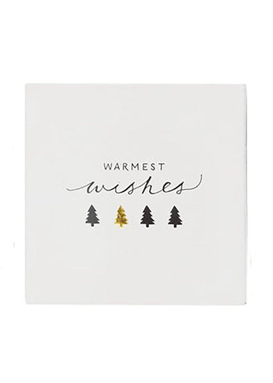 Holiday Square Matchbox - Warm Wishes