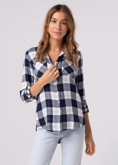 Wendy Plaid Button Down