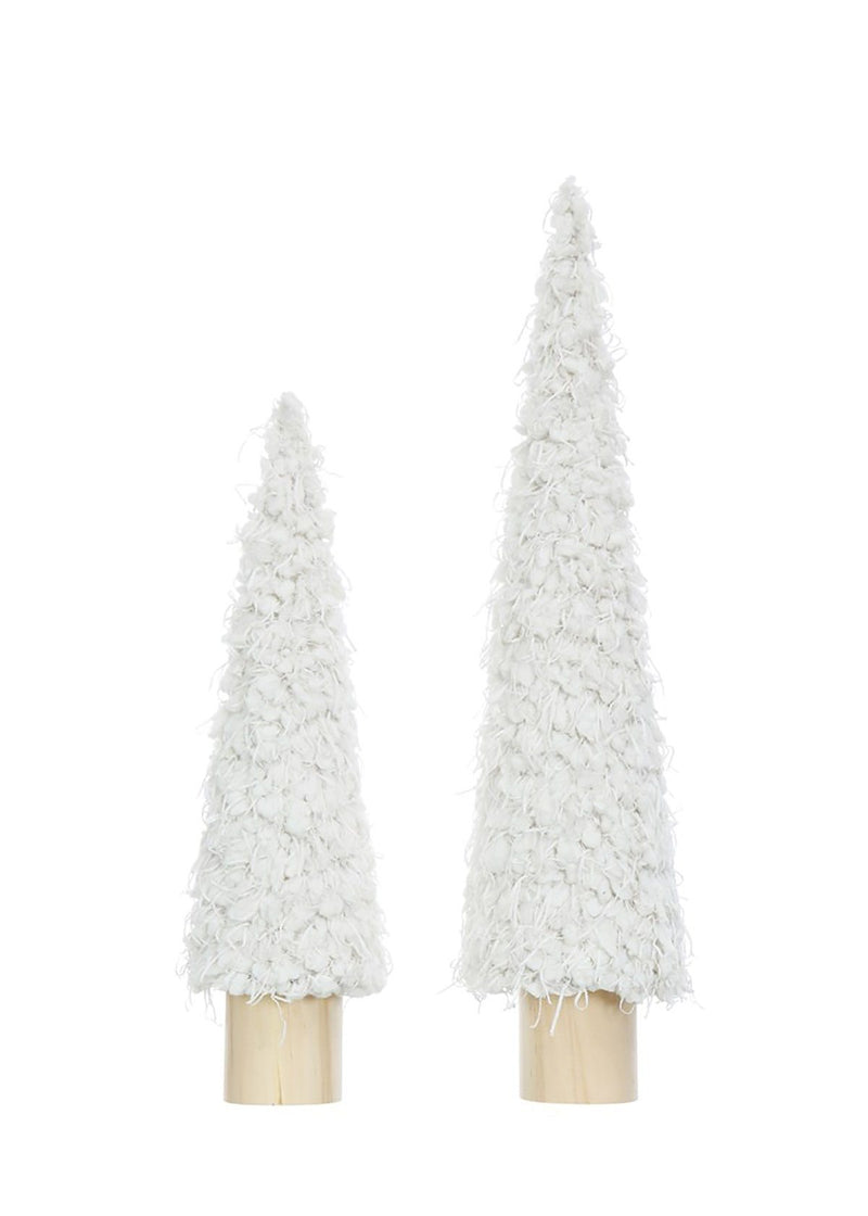 "Whoville Plush Fabric Tree - 14"" H"