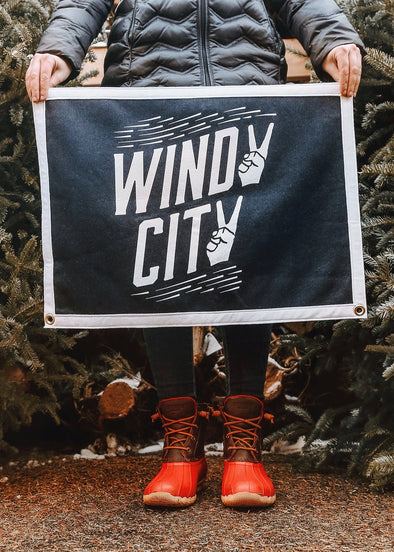 Windy City Camp Flag - Oxford Pennant Exclusive