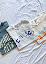 Windy City Tee - Navy