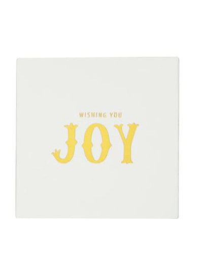 Holiday Square Matchbox - Wishing You Joy