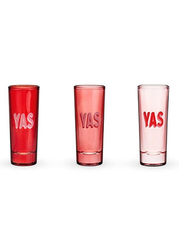 YAS Shot Glasses - Set Of 3