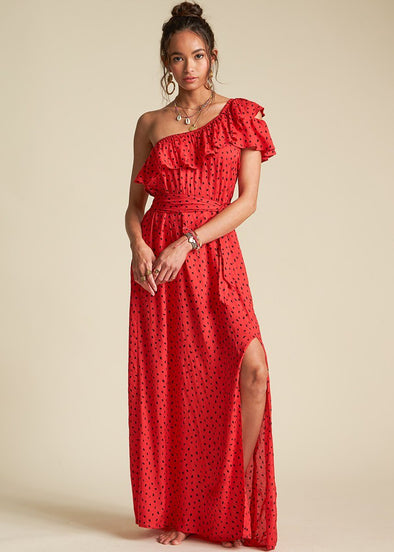 Your Side Dress - Rio Red