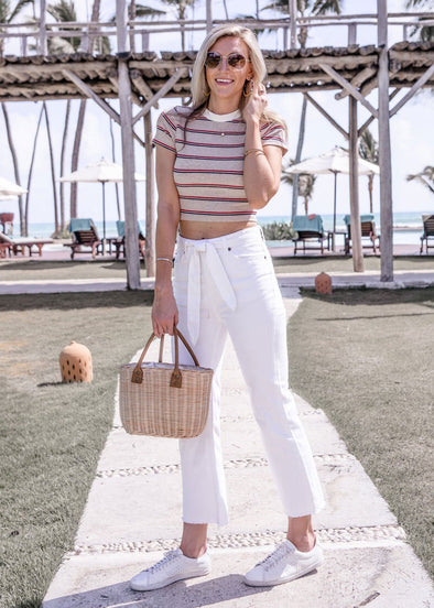 All Tied Up Pant - White