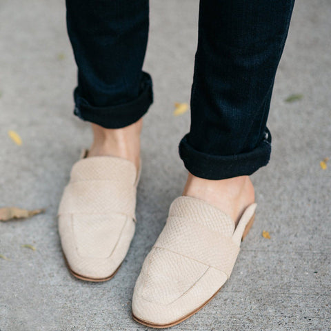 Free People At Ease Loafer - Beige
