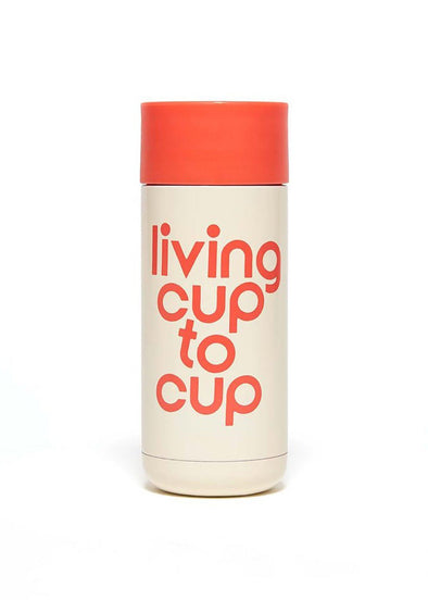 Stainless Steel Thermal Mug - Living Cup to Cup