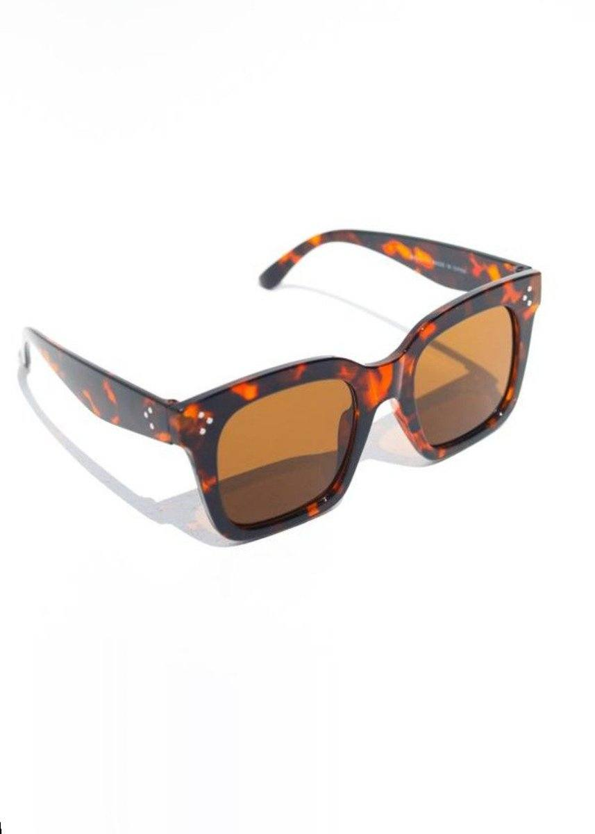 Bash Block Sunnies - Tortoise