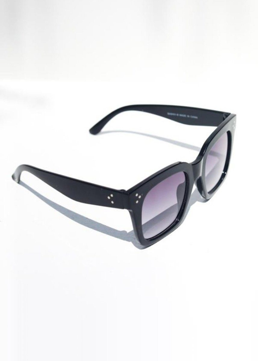 Bash Block Sunnies - Black