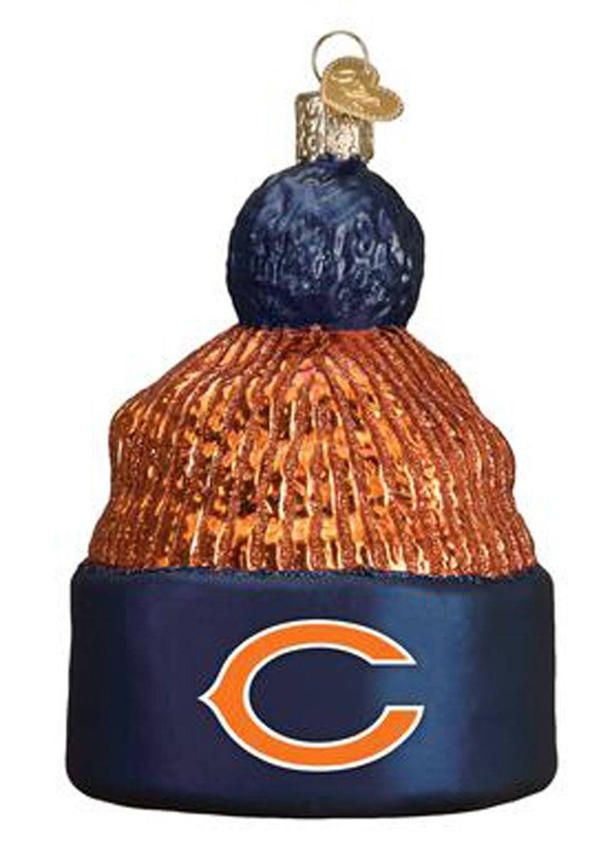 Chicago Bears Beanie Ornament