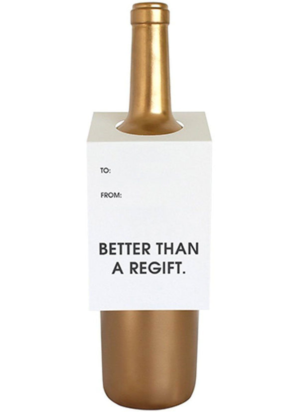 Better Than a Regift Wine Tag