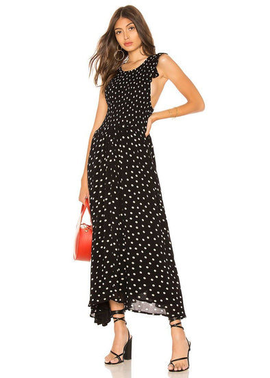 Butterfly Sleeve Midi Dress