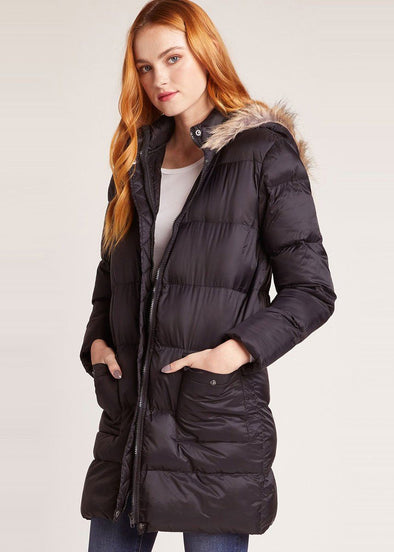 Moon Walker Puffer Jacket - Black