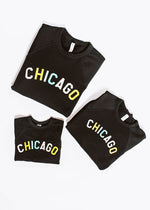 Sweet Home Chicago Youth Sweatshirt - Black