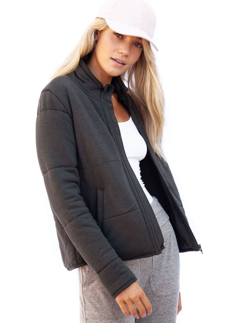 Brenna Jacket - Mineral Grey