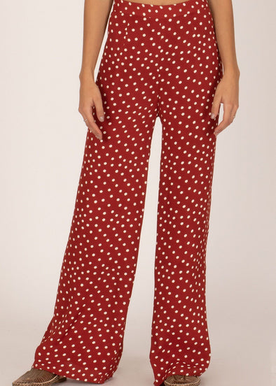 Bright Side Pant - Rouge