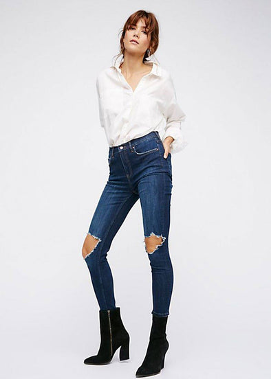 Jean Busted Skinny - Dark Blue