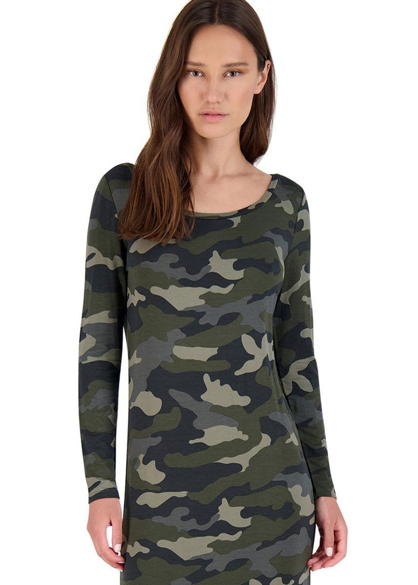 Can You See Me Now Army Green Dress