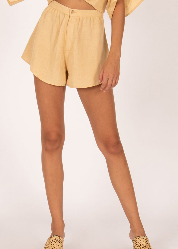Canopy High Waisted Short - Latte