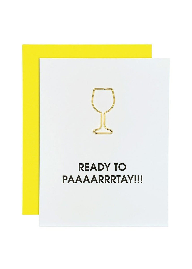 Ready to Paaarrrtay Joke Birthday Card
