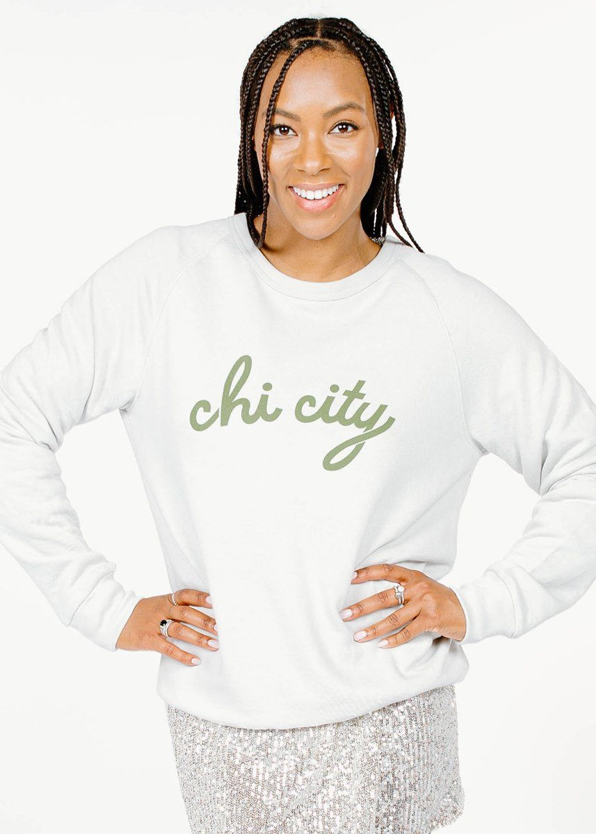 Chi City French Terry Sweatshirt