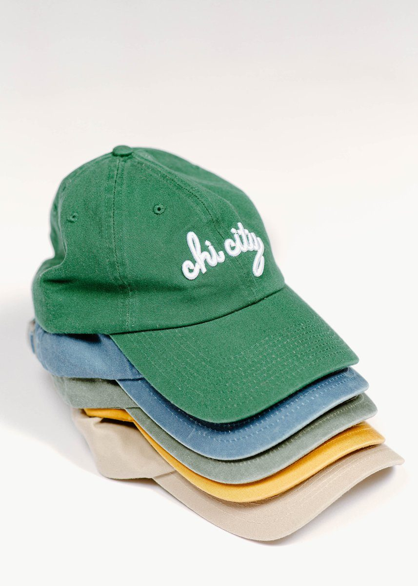 Chi City Dad Hat - Green