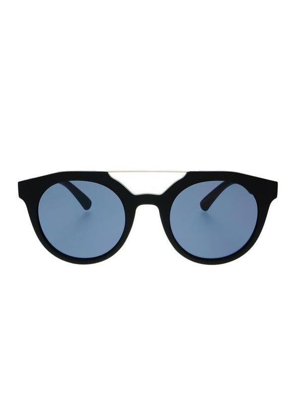 Collins Round Sunnies - Black