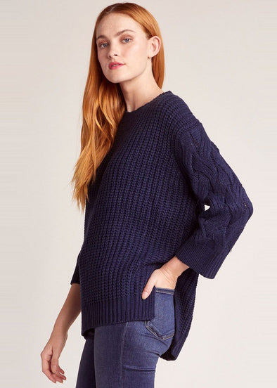 We've Got Cable Sweater - Dark Blue