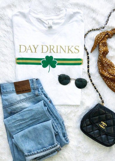 Day Drinkers Designer Tee