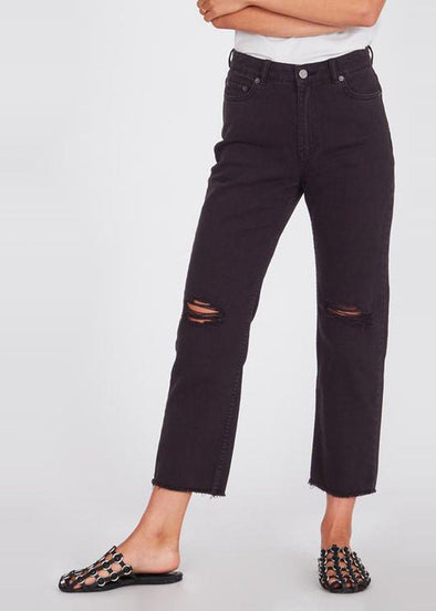 Selena Pant - Off Black Wash