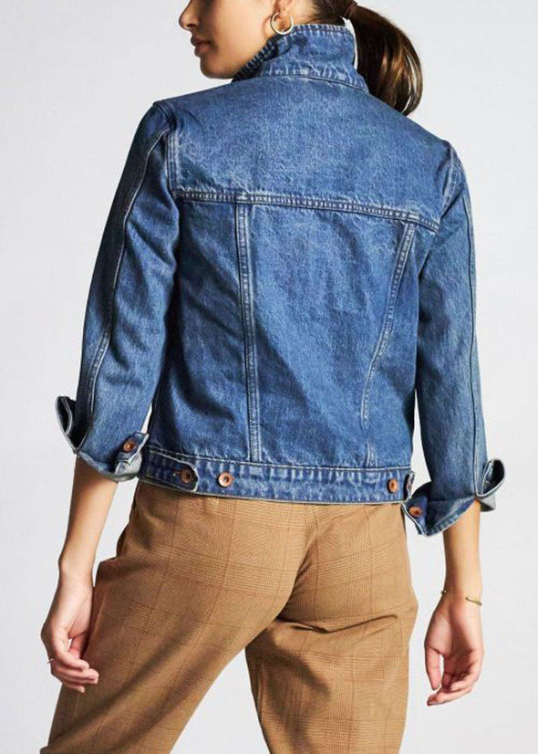 Broadway Denim Jacket - Worn Indigo