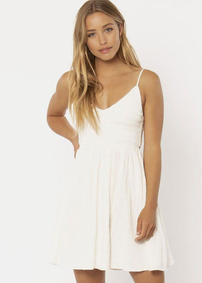 Emmie Tank Dress - Vintage White