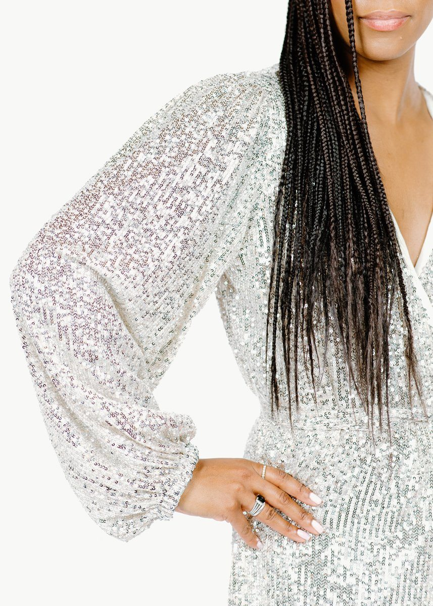 Drew Sequin Dress