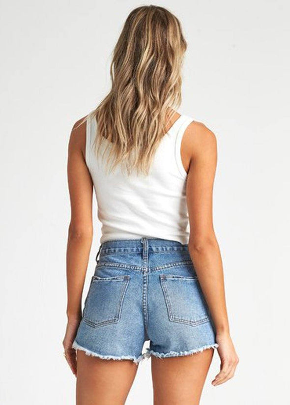 Drift Away Denim Short
