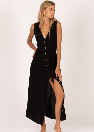 Driftwood Dress - Black