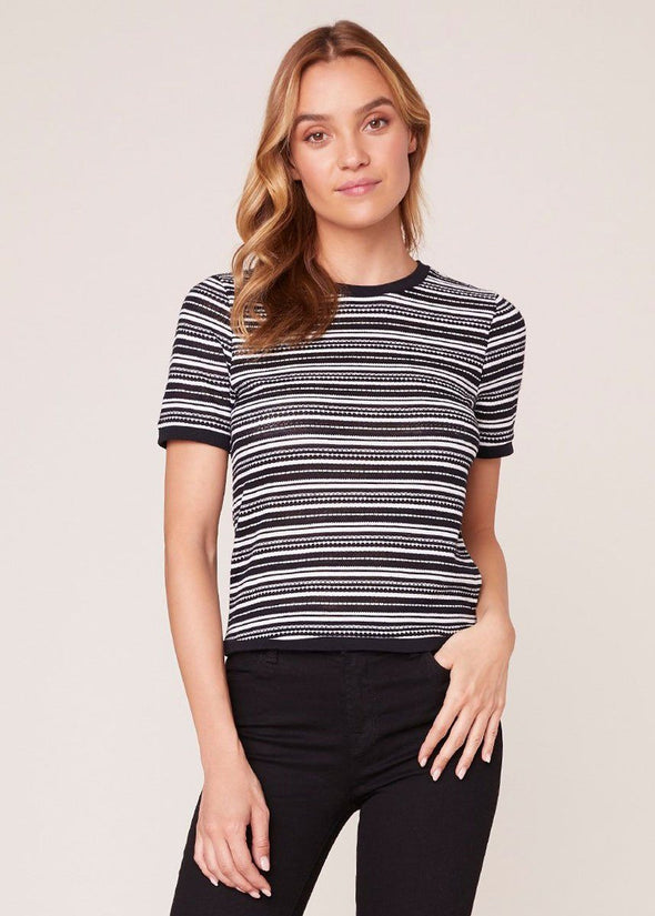 Fairisle Fancy Stripe Top