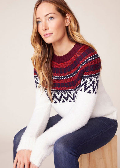 Play Fairisle Ivory Sweater